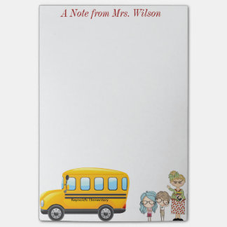 Teacher Post-it notes (personalized)