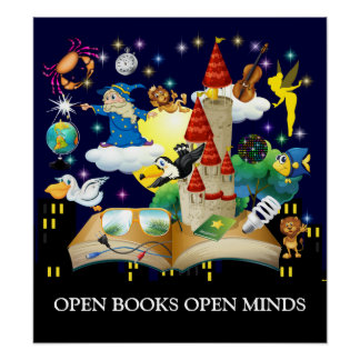 Teacher Reading - Literacy Poster - SRF