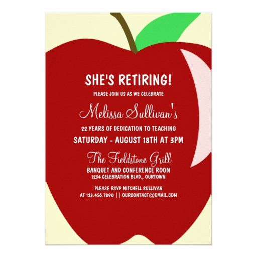 Retirement Reception Invitation Wording for best invitations layout