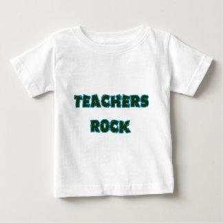 Teacher rock blue baby T-Shirt
