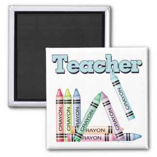 Teacher Square Magnet