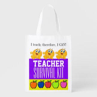 Teacher Survival Kit - SALE Grocery Bags