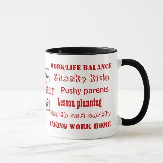Teacher Swear Words! Teaching Joke Mug