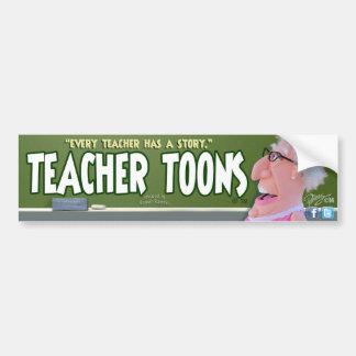 Teacher Toons Bumper Sticker