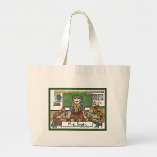 Teacher Totebag - Personalized Large Tote Bag