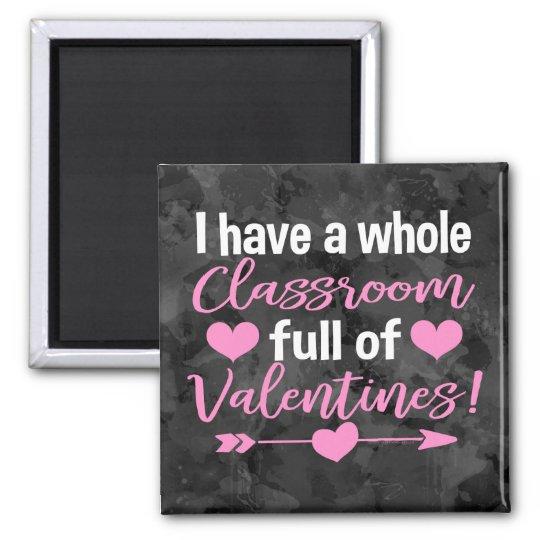 Teacher Valentine's Day Magnet