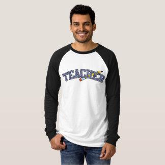 Teacher Vintage Team Lettering T-Shirt