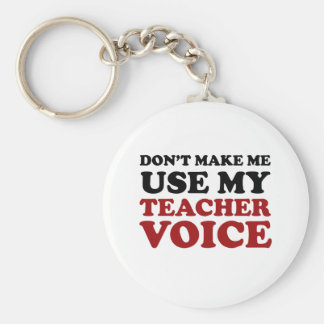 Teacher Voice Keychain