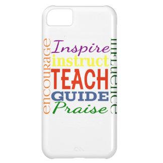 Teacher Word Picture Teachers School Kids Case For iPhone 5C