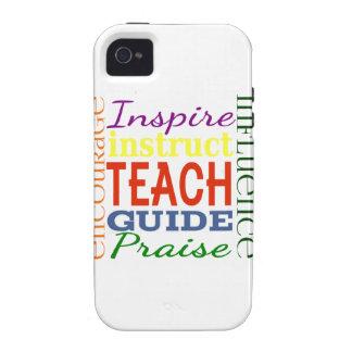 Teacher Word Picture Teachers School Kids Case-Mate iPhone 4 Cover
