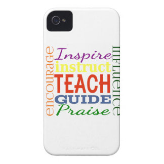 Teacher Word Picture Teachers School Kids iPhone 4 Cover