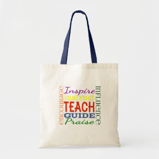 Teacher Word Picture Teachers School Kids Tote Bag