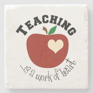 **TEACHER WORK OF HEART** COASTER