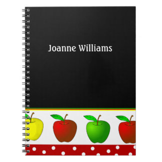 Teacher's Apples Notebook