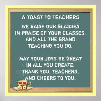 teachers appreciation poem poster