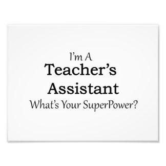 Teacher's Assistant Photo