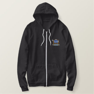 Teachers Chalkboard Embroidered Hoodie
