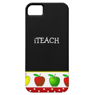 Teacher's Colorful Apples iPhone 5 Case