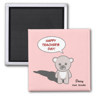 Teacher's Day_Magnet1(Personalize) Square Magnet
