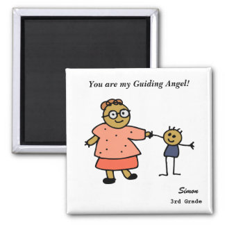 Teacher's Day_Magnet2(Personalize) Square Magnet