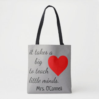 Teachers / Daycare Quote Tote Bag