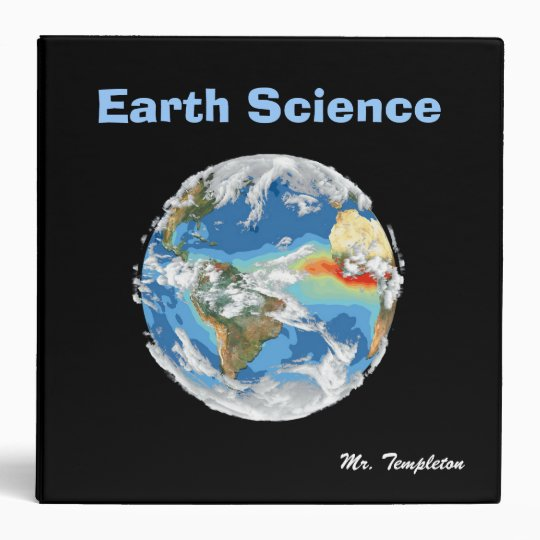 Teacher's Earth Science Binder