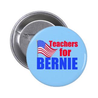 Teachers for Bernie Sanders 2 Inch Round Button