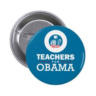Teachers for Obama 2 Inch Round Button