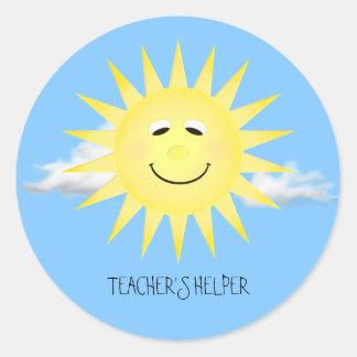 TEACHER'S HELPER STICKER
