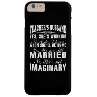 TEACHER'S HUSBAND BARELY THERE iPhone 6 PLUS CASE