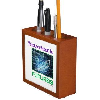 Teachers Invest Desk organiser