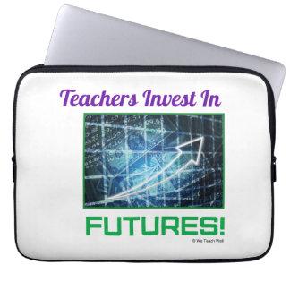 Teachers Invest  laptop sleeve