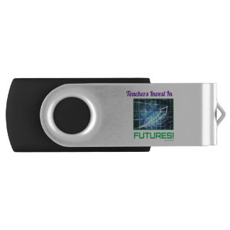 Teacher's Invest two tone USB Swivel USB 3.0 Flash Drive