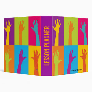 Teacher's Lesson Planner 3 Ring Binder