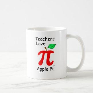 """Teachers Love Apple Pi"" Mug"