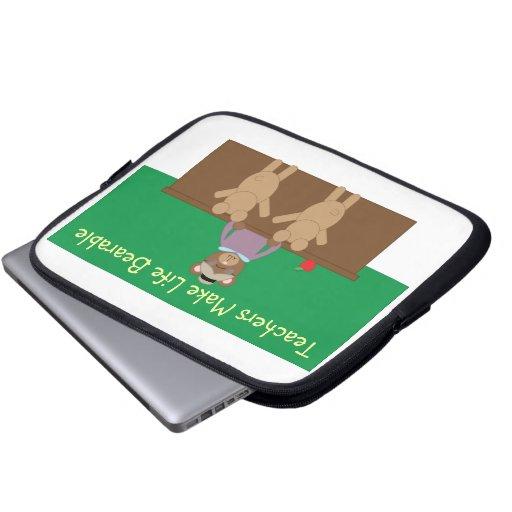 Teachers Make Life Bearable Electronics Bag Laptop Computer Sleeves