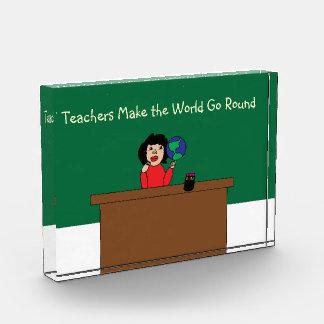 Teachers Make the World Go Round