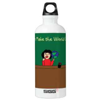 Teachers Make the World Go Round Liberty Bottle