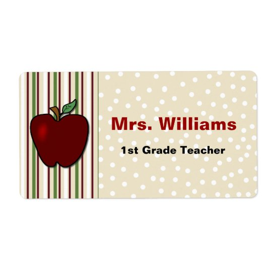 Teacher's Name Tags