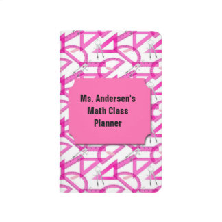 Teachers Pink Math Tools Pocket Journal