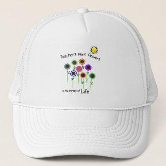 Teacher's Plant Flowers Cap