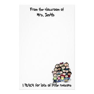 Teacher's Reason Stationary Stationery