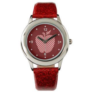 Teacher's Red Checkered Apple Watch