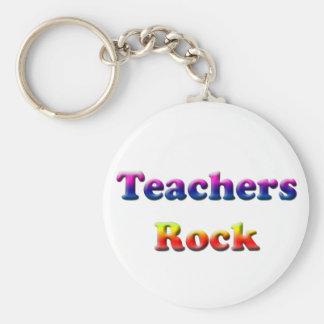TEACHERS ROCK KEYCHAIN