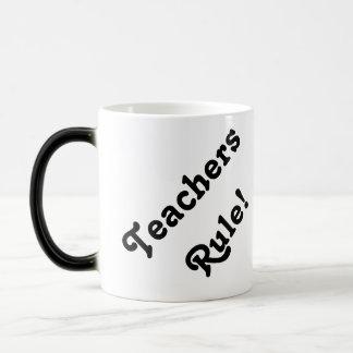 Teachers rule! morphing mug