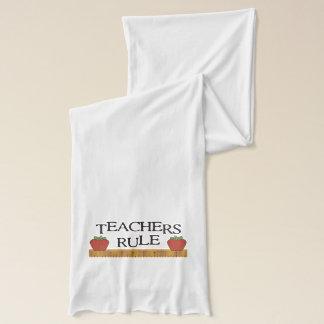 Teachers Rule Scarf