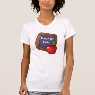 Teachers rule t-shirt