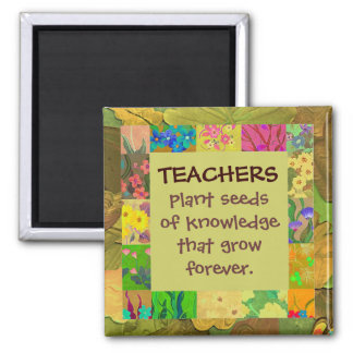 teachers thank you magnet