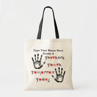 Teachers Touch Tomorrow Today - Personalized Tote
