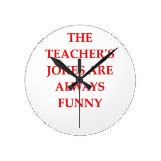 TEACHERS WALLCLOCK